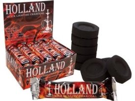Holland Charcoal Instant light coal 44mm
